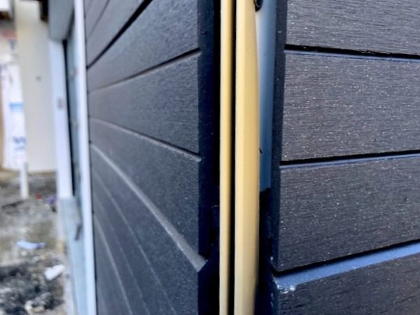 Black Composite Cladding –a striking finish for your home!